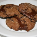 Triple Treacle Chocolate Cookies