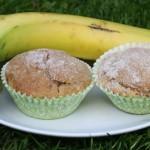 Banana and Cinnamon Muffins